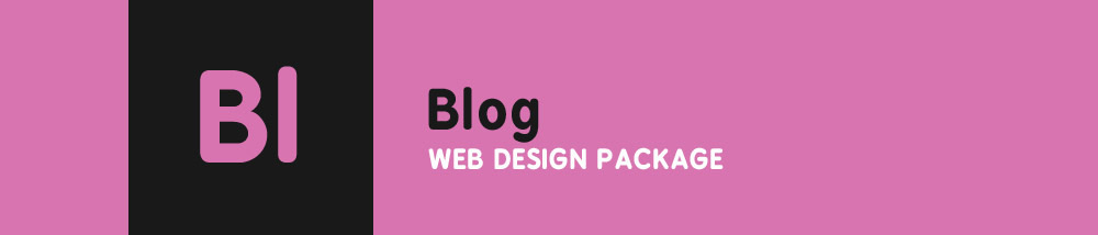 Blog Web Design Package
