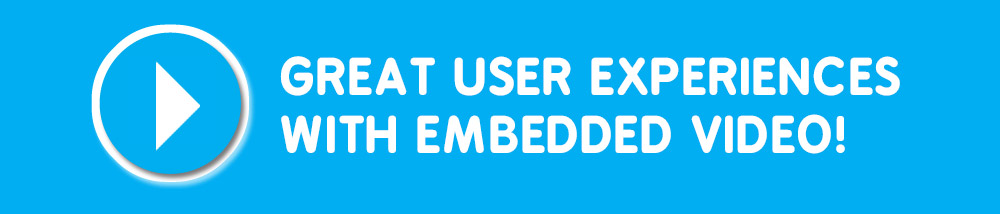 Show off your Product with Embedded Videos