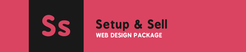 Setup and Sell Web Design Package