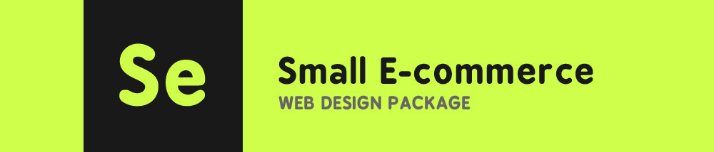 Small Ecommerce Web Design Package