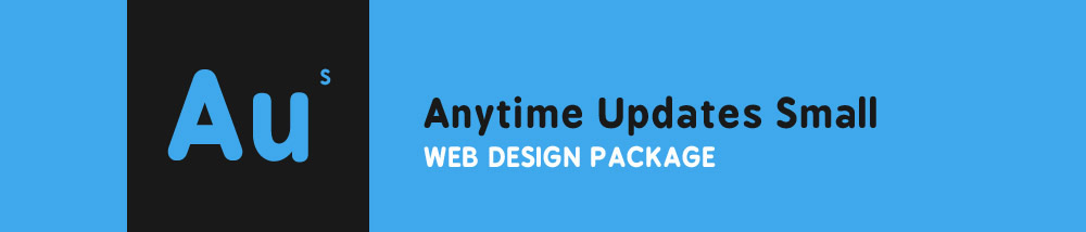 Anytime Updates Small Web Design Package